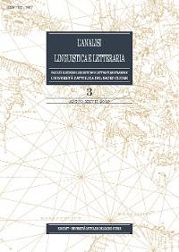 Cover L'Analisi Linguistica e Letteraria 2019-3