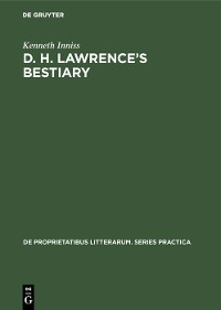 Cover D. H. Lawrence's Bestiary