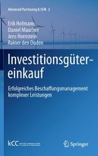 Cover Investitionsgütereinkauf