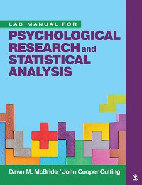 Cover Lab Manual for Psychological Research and Statistical Analysis