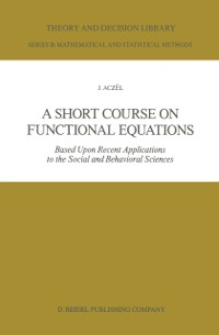 Cover Short Course on Functional Equations