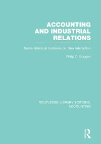 Cover Accounting and Industrial Relations (RLE Accounting)