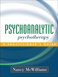 Cover Psychoanalytic Psychotherapy