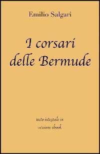 Cover I corsari delle Bermude di Emilio Salgari in ebook