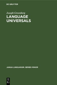 Cover Language Universals