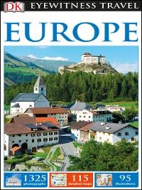 Cover DK Eyewitness Travel Guide Europe