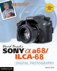 Cover David Busch's Sony Alpha a68/ILCA-68 Guide to Digital Photography