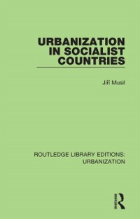 Cover Urbanization in Socialist Countries