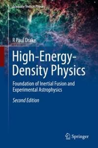 Cover High-Energy-Density Physics