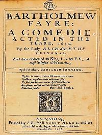 Cover Bartholomew Fair