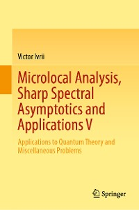 Cover Microlocal Analysis, Sharp Spectral Asymptotics and Applications V