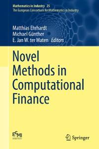 Cover Novel Methods in Computational Finance