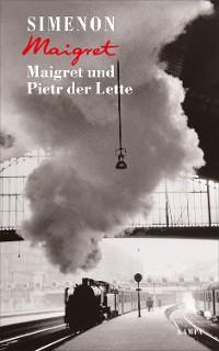 Cover Maigret und Pietr der Lette