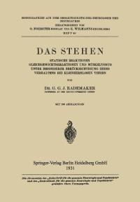 Cover Das Stehen