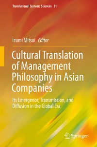 Cover Cultural Translation of Management Philosophy in Asian Companies