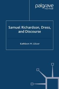 Cover Samuel Richardson, Dress, and Discourse