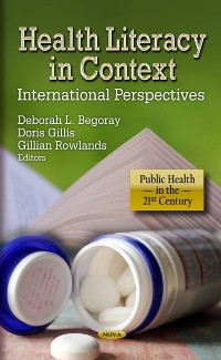 Cover Health Literacy in Context