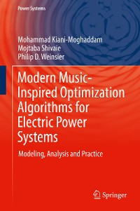 Cover Modern Music-Inspired Optimization Algorithms for Electric Power Systems