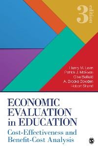 Cover Economic Evaluation in Education