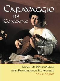 Cover Caravaggio in Context