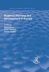 Cover Regional Planning and Development in Europe