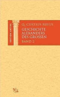 Cover Geschichte Alexanders des Großen