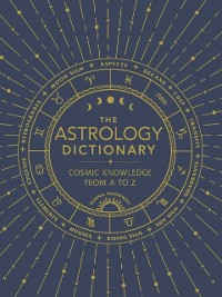 Cover Astrology Dictionary