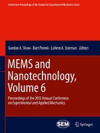 Cover MEMS and Nanotechnology, Volume 6