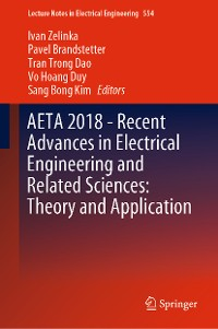 Cover AETA 2018 - Recent Advances in Electrical Engineering and Related Sciences: Theory and Application