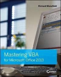 Cover Mastering VBA for Microsoft Office 2013