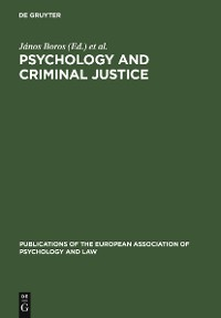 Cover Psychology and Criminal Justice
