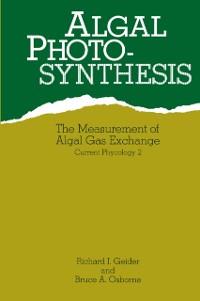 Cover Algal Photosynthesis