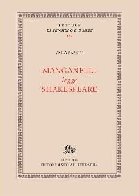 Cover Manganelli legge Shakespeare