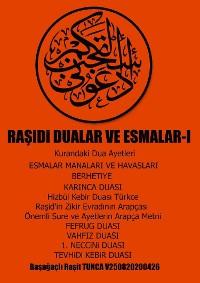Cover RASiDi DUALAR VE ESMALAR-I