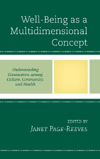 Cover Well-Being as a Multidimensional Concept