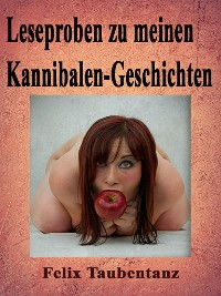 Cover Leseproben zu meinen Kannibalen-Geschichten