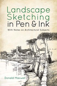 Cover Landscape Sketching in Pen and Ink