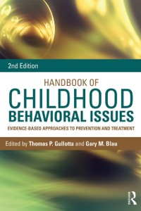 Cover Handbook of Childhood Behavioral Issues