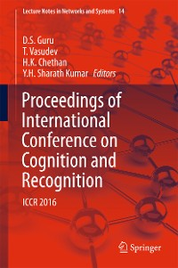 Cover Proceedings of International Conference on Cognition and Recognition
