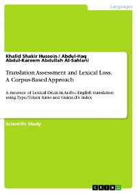 Cover Translation Assessment and Lexical Loss. A Corpus-Based Approach