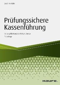 Cover Prüfungssichere Kassenführung in bargeldintensiven Unternehmen