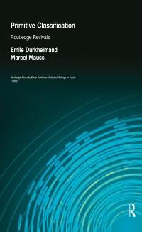 Cover Primitive Classification (Routledge Revivals)