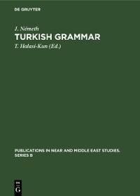 Cover Turkish Grammar