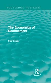 Cover Economics of Rearmament (Rev)