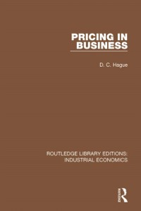 Cover Pricing in Business