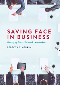 Cover Saving Face in Business