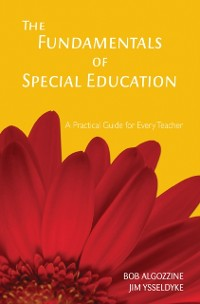 Cover Fundamentals of Special Education