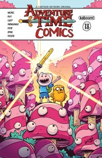 Cover Adventure Time Comics #18