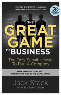 Cover Great Game of Business, Expanded and Updated