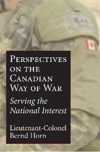 Cover Perspectives on the Canadian Way of War